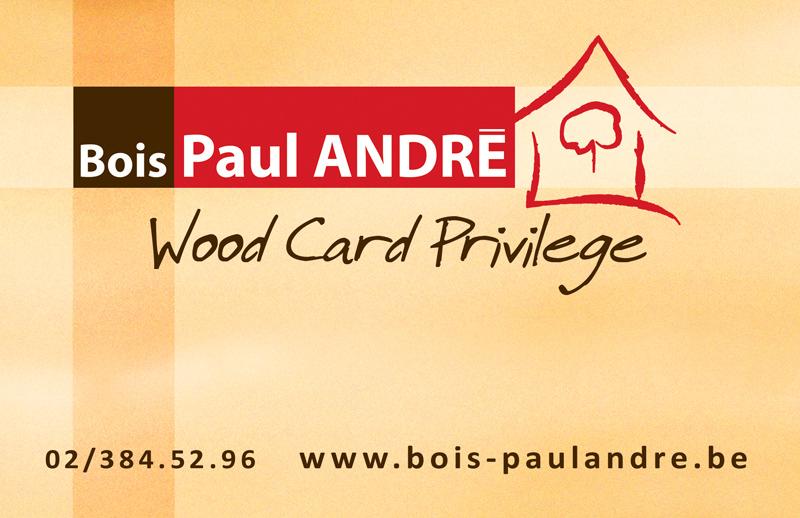 Centre du Bois Paul André - Carte Privilège